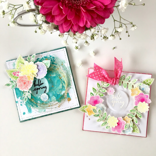 Project: Wire Wreath Cards for Spring