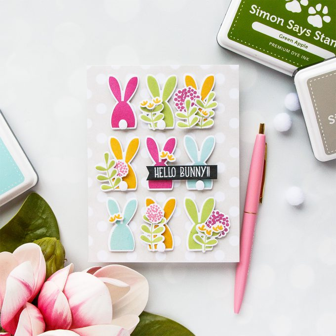 Project: Wobble Easter Bunnies Card