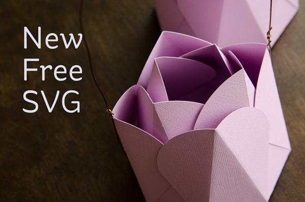 Freebie: 3D Tulip