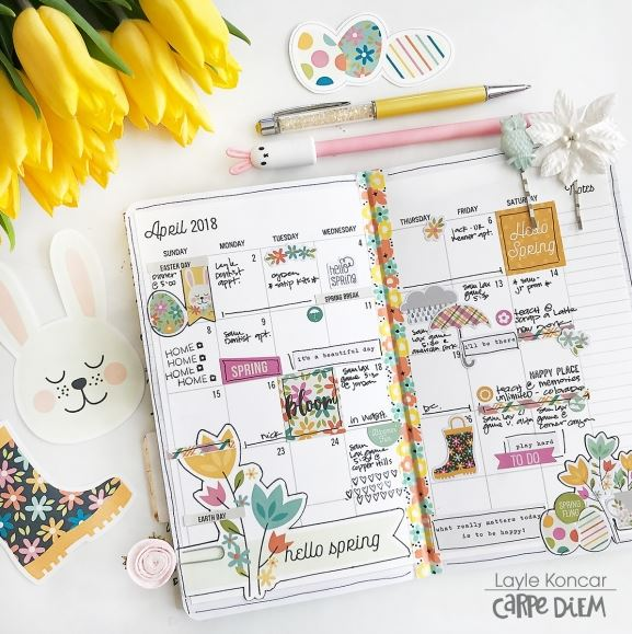Download: April Planner Printables