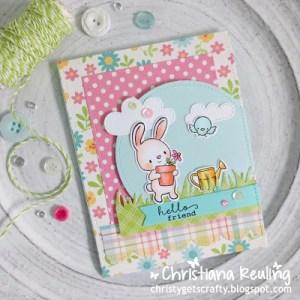 Project: Gardening Bunny Card