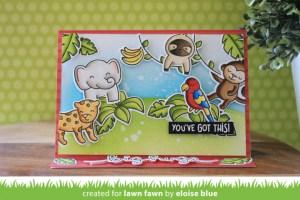Jungle Easel Card