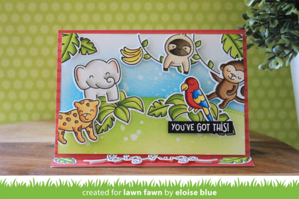Jungle Easel Card