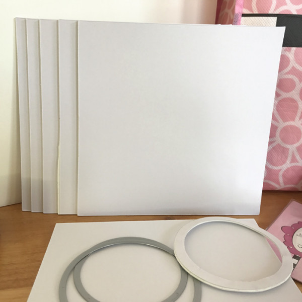 Make Easy Shaker cards with Adhesive Foam