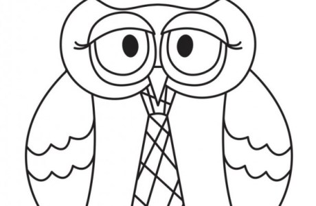Boy and Girl Owl Digital Stamps