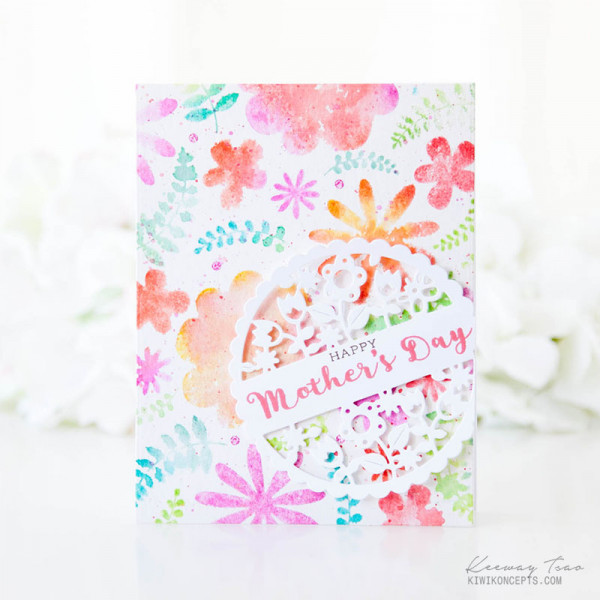 Water Color Stamping