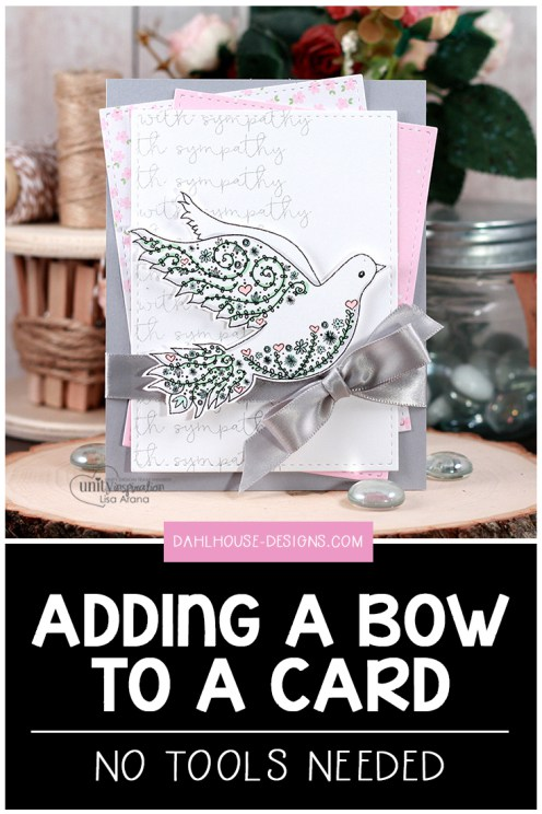 Tips for Adding a Bow to Cards