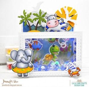 Under Water Scene Card