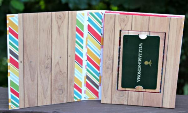 Accordion Book Box Gift Card Holder