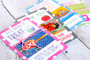 Printable- Teacher Gift Card Holders