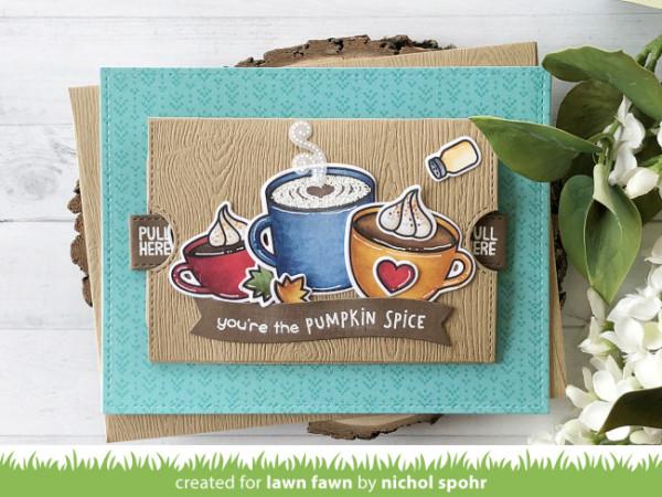 Pumpkin Spice Double Slider Card
