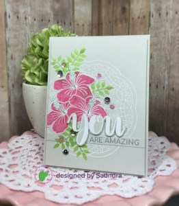 Card with Stained Glass Look