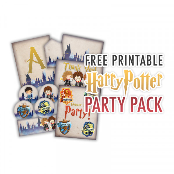 This is an image of Exceptional Free Printables for Harry Potter Parties