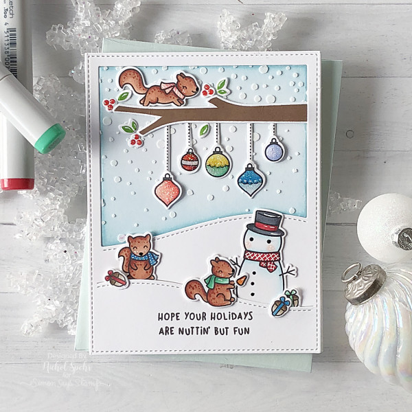 Three Winter Squirrel Cards