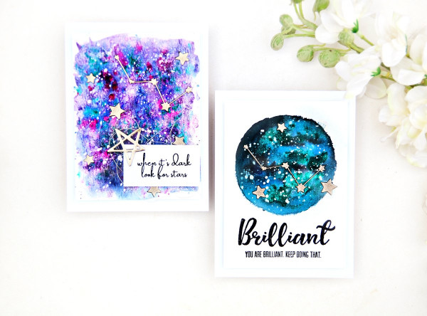 Galaxy Constellation Cards