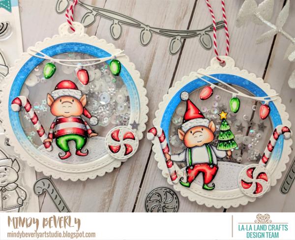 Christmas Elf Shaker Ornaments