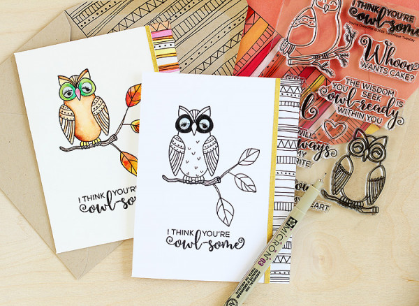 Adding Doodling to Your Stamps
