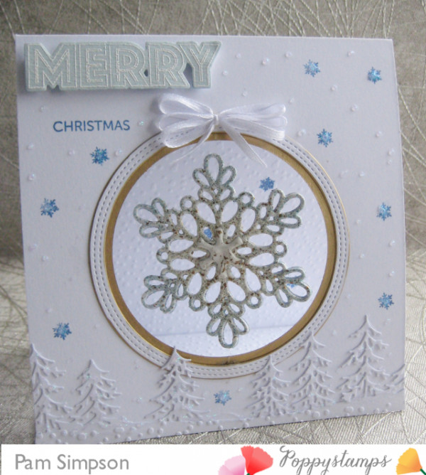 Snowflake Spinner Card