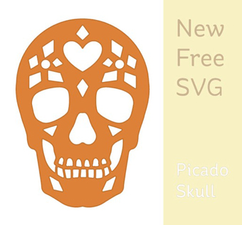 Day of the Dead Die Cut
