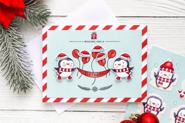 3 Penguin Card Ideas