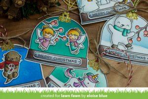 Snow Globe Gift Tags