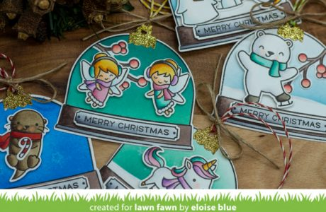 Snow Globe Gift Tags