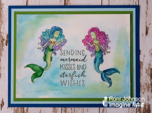 Mermaid Mirror Stamping