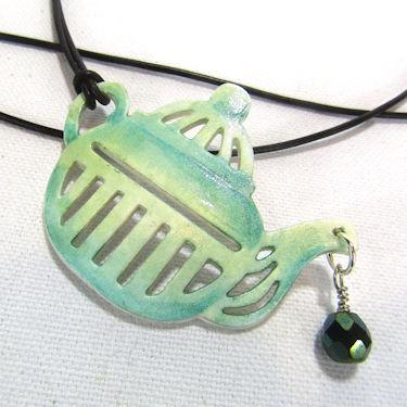 Paper Jewelry Pendant