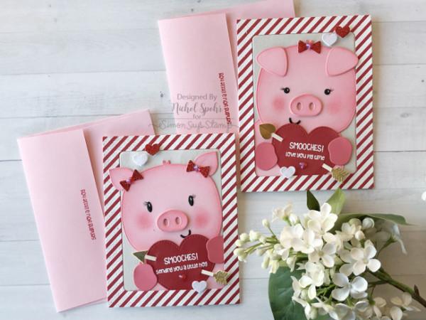 Piggy Valentine Cards
