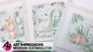 Animal Letter Cards