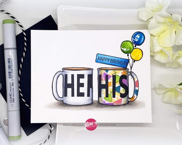 Masculine Birthday Mug Card