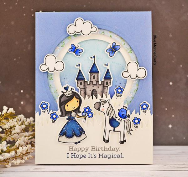 Princess Tunnel Card