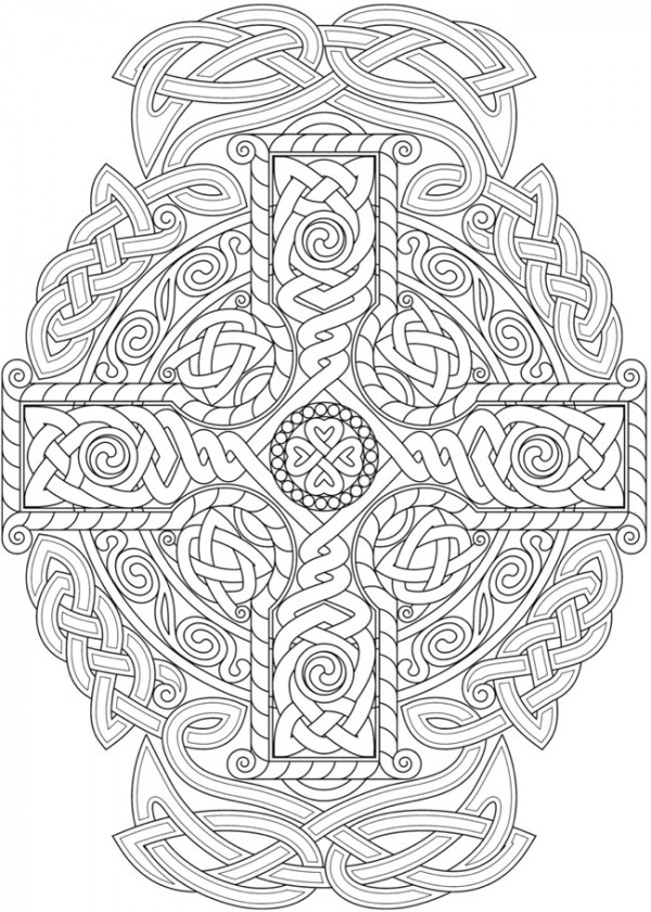 6 Celtic Knots Coloring Pages