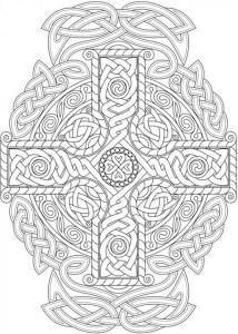 6 Celtic Knots Coloring Pages