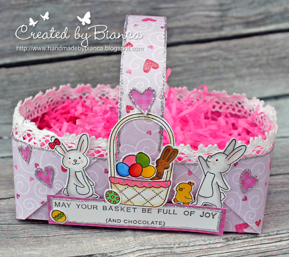 Make a Paper Easter Basket