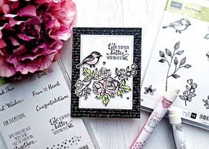 Coloring with Sheer Shimmer Stix