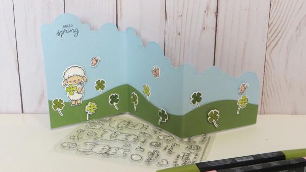 St. Patrick's Day Z Fold Card