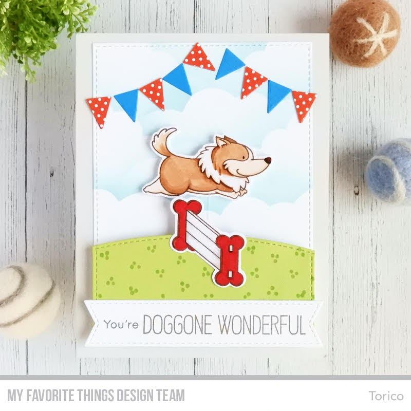Jumping Dog Interactive Card