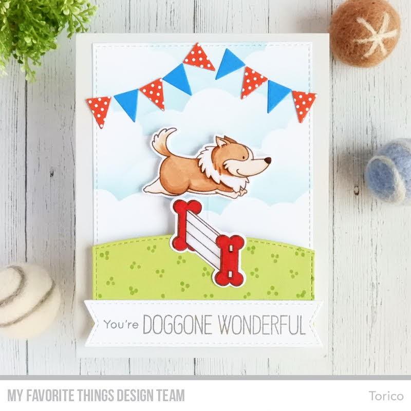 Jumping Dog Interactive Card