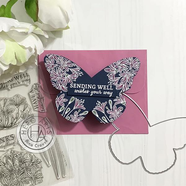 Butterfly Shaped Card