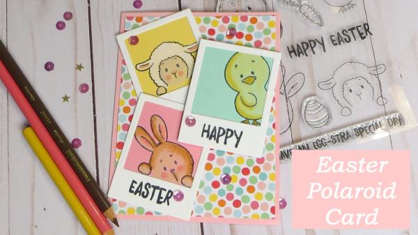 Polaroid Easter Card