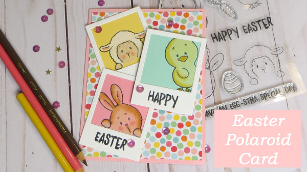 Polaroid Easter Card