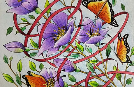 Coloring Card Download