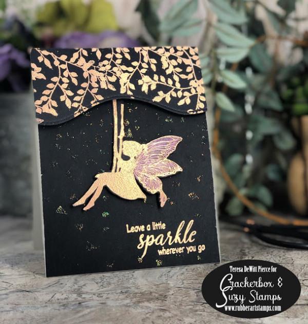 Swinging Fairy Card