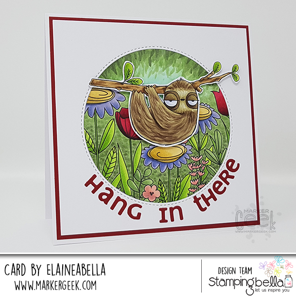 Funky Sloth Card