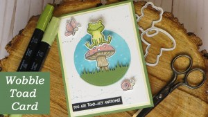 Wobble Toad Card