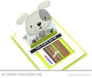 Puppy Surprise Slider Card
