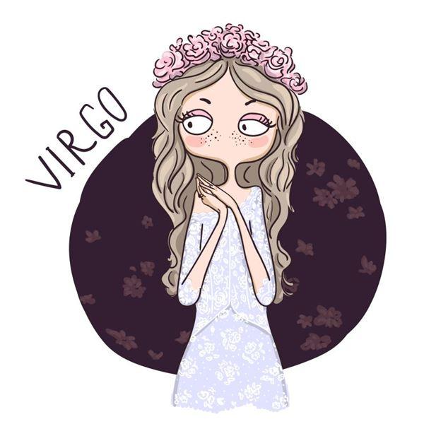 Virgo Digital Stamp Download