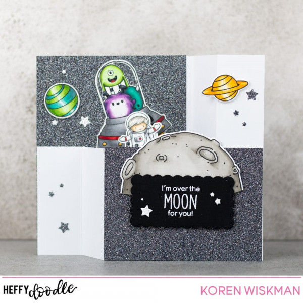 Astronaut Wiper Card