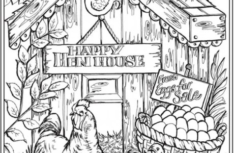 6 Farm Life Coloring Pages